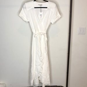 7 for all mankind linen dress